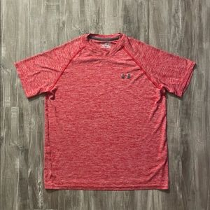 Under Armour Loose Fit Short Sleeve Heat Gear Med